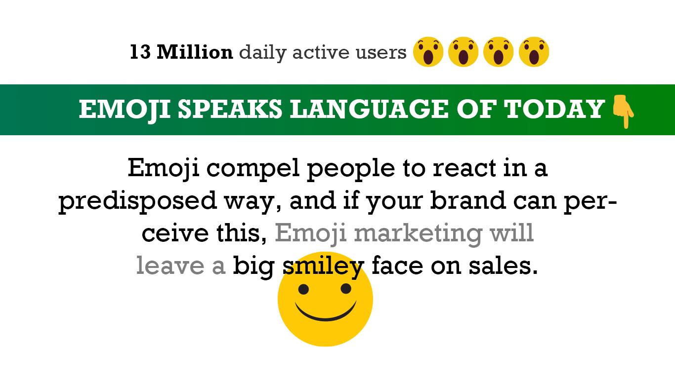 Emoji Speaks the Language