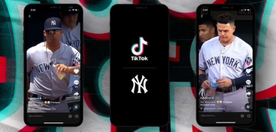 TikTok and New York Yankees Enter Into 3-Year Deal